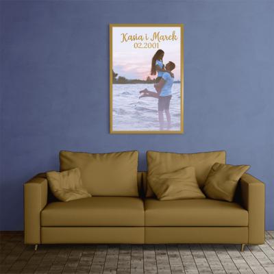 Kreator plakatów, spersonalizuj i wydrukuj