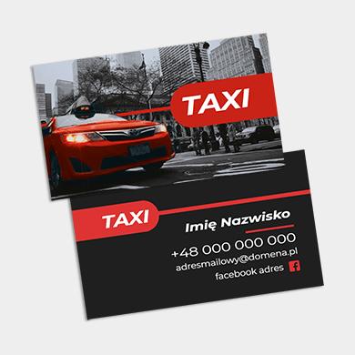 Wizytówki dla taksówkarza